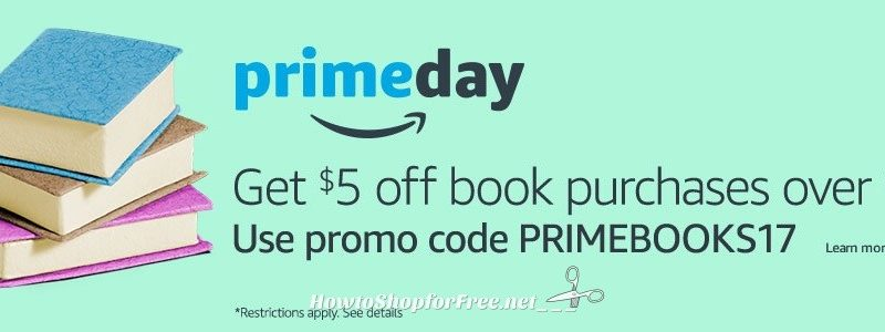 WOW $5 off $15 on Amazon Books Coupon!!!