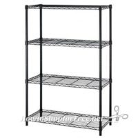 54″ Steel Wire 4-Tier Metal Shelving ONLY $25 Shipped!