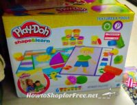 Great for Teachers, Play-Doh Shape & Learn UNDER $5!!