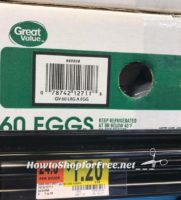 RUN DEAL~ 60ct. Eggs for $1.20 at Walmart!!!