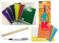 School Supplies as low as 25¢ at Kmart (7/23-29)