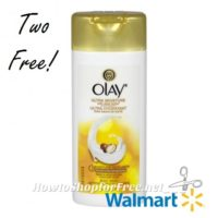 2 FREE Olay Body Wash (Travel Size) EASY Walmart Deal!