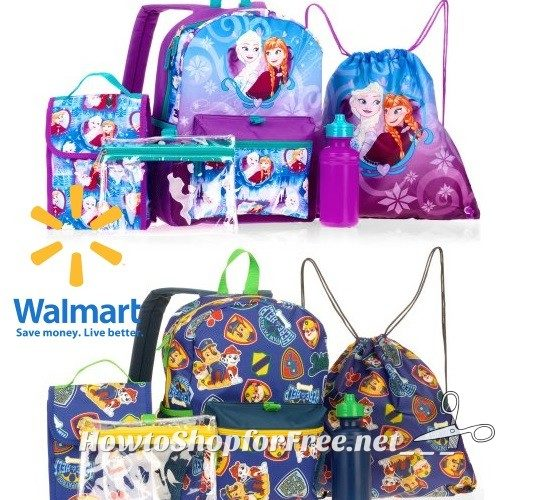 Character Backpack 5pc. Sets for $12.88!!!!