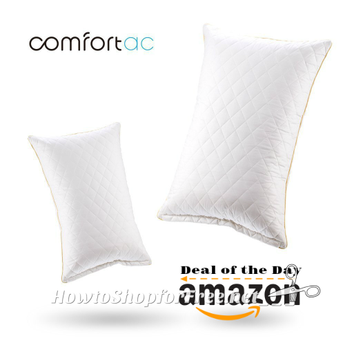 Shredded Memory Foam Pillows by Comfortac, up to 40% OFF Today!