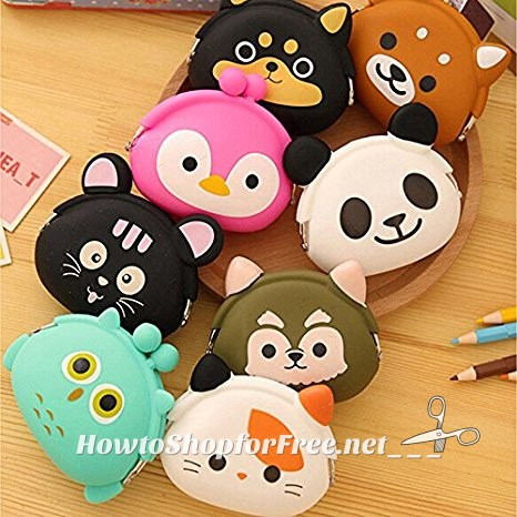ADORABLE Animal Coin Purses, All Under $4 + Free Ship!