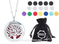 Aromatherapy Necklace (Tree of Life Design) 62% OFF!!