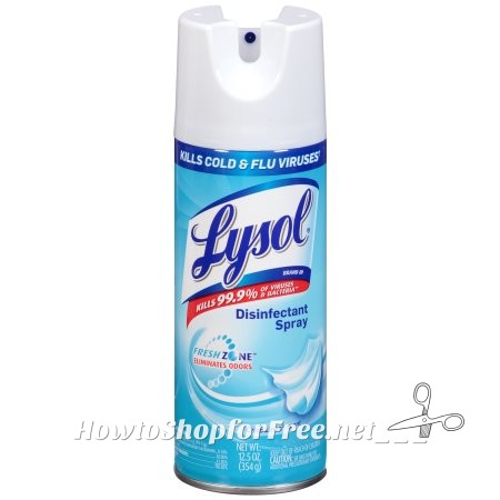 Lysol Disinfectant Spray ONLY $1.99!