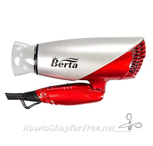 Folding Hair Dryer 77% OFF on Lightning Deal!