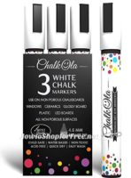 54% OFF 3ct. White Chalk Markers on Lightning Deal! UNDER $9!