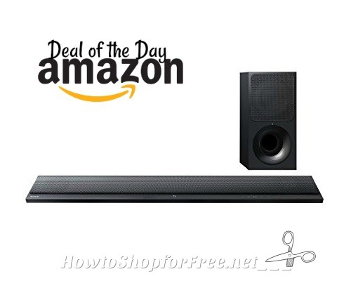 $75 OFF Sony Ultra-Slim Sound Bar with Bluetooth, Today Only!