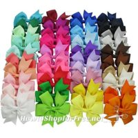 40ct. Hair Bows ONLY $9.99! (Just .25 per bow!)