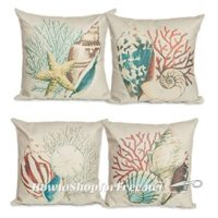 """4x """"Ocean"""" Themed Pillow Covers, $9.98 SHIPPED!"""