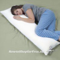 $17.99 Memory Foam Body Pillow on Lightning Deal! (Save 40% OFF)