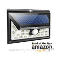 Litom Outdoor Solar Light, up to 63% OFF! ~Deal of the Day
