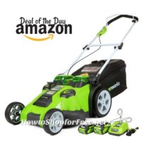 Greenworks 40V Mower, $140 OFF Today! Wow!