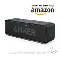 66% OFF Anker SoundCore Bluetooth Speaker, with 24hr Playtime