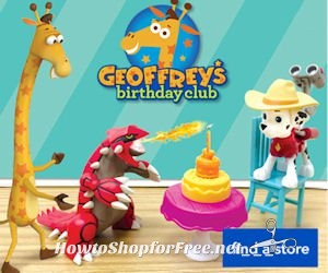 "FREE Geoffrey Toy, Book & More at Toys""R""Us TODAY from 3-4pm"