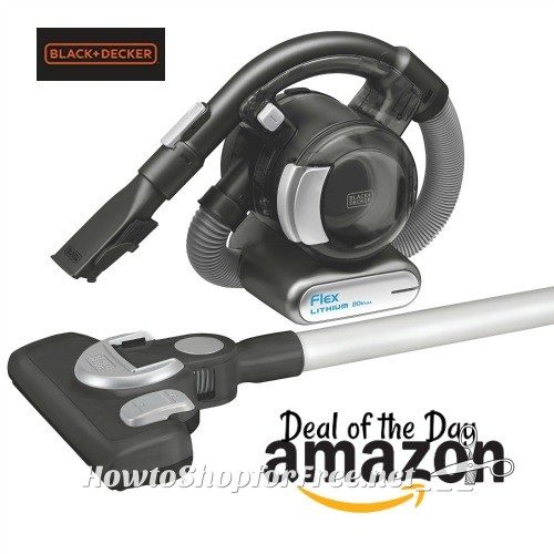 BLACK+DECKER Cordless Vacuum $71 Shipped! Today Only!