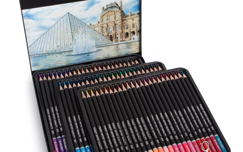 72ct. Premium Pre-Sharpened Color Pencils 73% OFF on Lightning Deal!