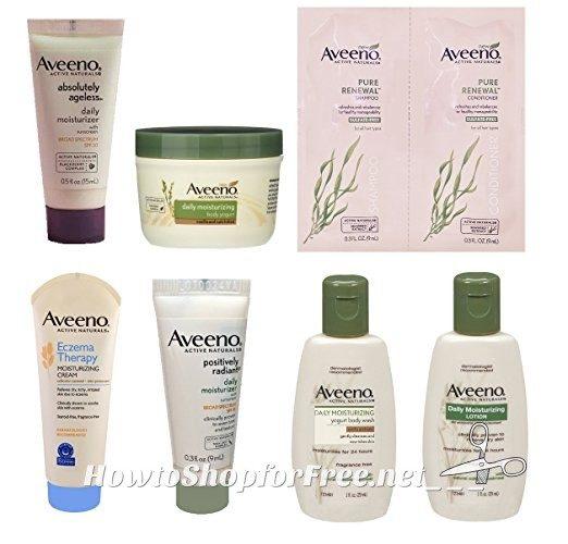 FREE Aveeno Sample Box from Amazon!