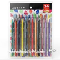 73% OFF Woodless Watercolor Pencils (24ct) HURRY, Lightning Deal!