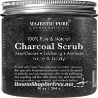 Charcoal Body and Facial Scrub UNDER $11 on Lightning Deal!