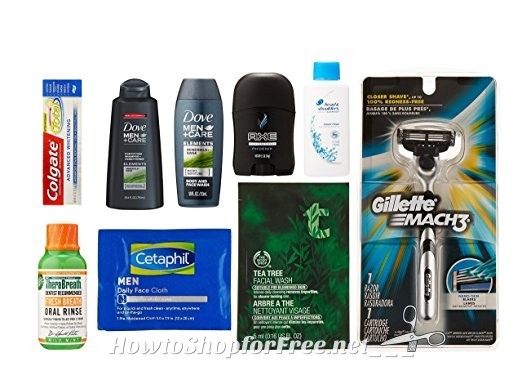 Free Men's Grooming Sample Box is back +MORE Products!