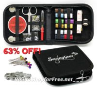 $9.16 Compact Sewing Kit for Travel, Camping & Emergency ~LIGHTNING DEAL!