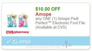 photograph about Amope Printable Coupon named Contemporary Printable Coupon** $10.00/1 Amope Pedi Best