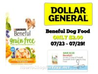 Beneful Dog Food ONLY $2.00 at Dollar General 07/23 ~ 07/29!