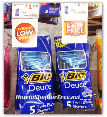 FREE 5ct. BiC Shavers at Family Dollar!!