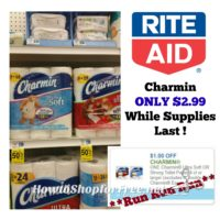 **WOW** Charmin Toilet Tissue ONLY $2.99 ~ WHILE SUPPLIES LAST!!