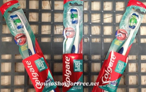 24¢ Colgate 360 Toothbrush at Walgreen's!