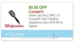 photo regarding Conair Printable Coupons referred to as Fresh Printable Coupon** $5.00/1 Conair Hair Design Equipment