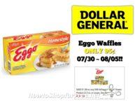 Eggo Waffles ONLY 95¢ at Dollar General 07/30 ~ 08/05!!