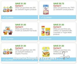 image regarding Gerber Printable Coupons identify Refreshing Printable Coupon codes**6 Gerber Coupon codes Pre-Clipped for On your own