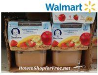 63¢ Gerber First Foods at Walmart