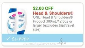 picture relating to Printable Head and Shoulders Coupon titled Clean Printable Coupon** $2.00/1 Mind Shoulders Content