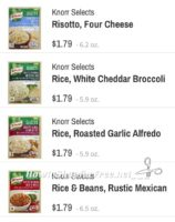 Knorr Selects are $.79 at Wegmans!