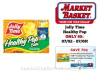 Jolly Time Healthy Pop ONLY 80¢ at Market Basket 07/02 ~ 07/08!