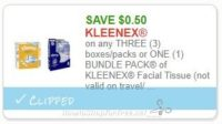 WOW! Kleenex as low as 7 cents at Stop & Shop 8/11-8/17!!!