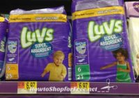 Parents, Grab Luvs Diapers for $4.97!