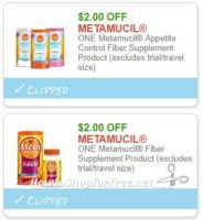 **NEW Printable Coupons** 2 Metamucil Coupons Pre-Clipped for You!