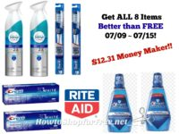 WOW! Get all 8 Items and Make $12.31 at Rite Aid 07/09 ~ 07/15!