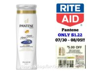 Pantene ONLY $1.22 at Rite Aid 07/30 ~ 08/05!!
