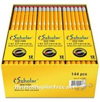 **Amazon Back to School Deal** iScholar #2 Pencils (box of 144) ~ ONLY 11¢ Per Pencil!!