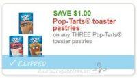 **NEW Printable Coupon** $1.00/3 Pop-Tarts toaster pastries