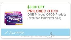 photograph regarding Prilosec Coupons Printable Easy named Contemporary Printable Coupon** $3.00/1 Prilosec OTC Material How in the direction of