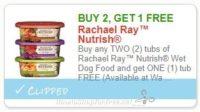 **NEW Printable Coupon**B2G1 FREE Rachael Ray™ Nutrish Wet Dog Food
