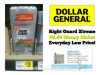 Right Guard Xtreme Antiperspirant $2.49 MONEY MAKER at Dollar General ~ Everyday Low Price!